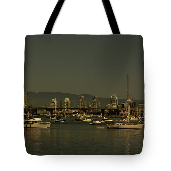 Marina Golden Hours Tote Bag