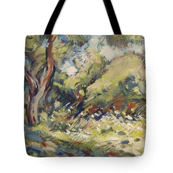 Marmari Olive Orchard Paxos Tote Bag