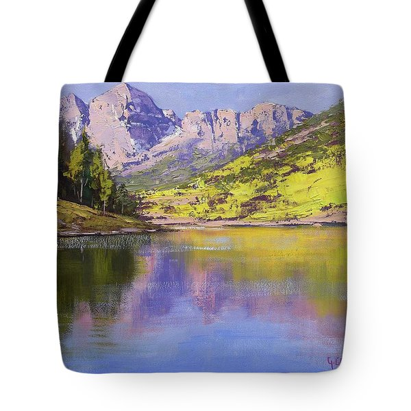Maroon Bells Reflections Tote Bag