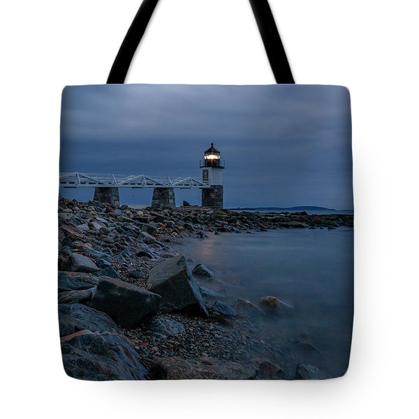 Marshall Point Just Before Dawn Tote Bag
