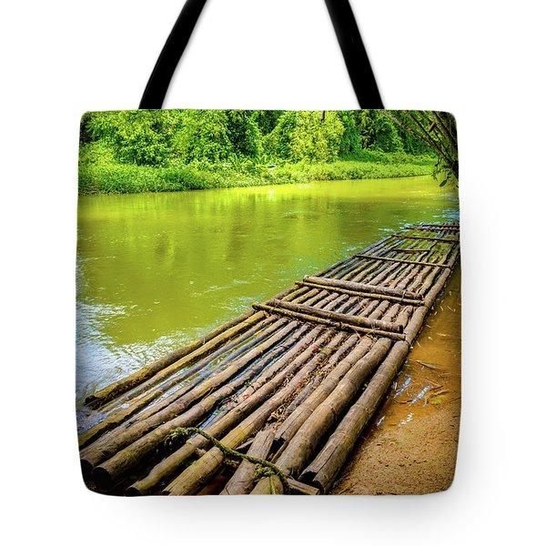 Martha Brae River Rafting Tote Bag