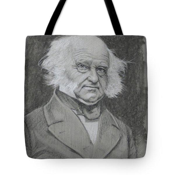 Martin Van Buren Tote Bag
