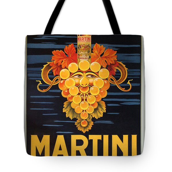 Martini Vermouth Tote Bag