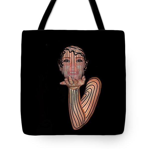 Mask Beautiful Aj Tote Bag