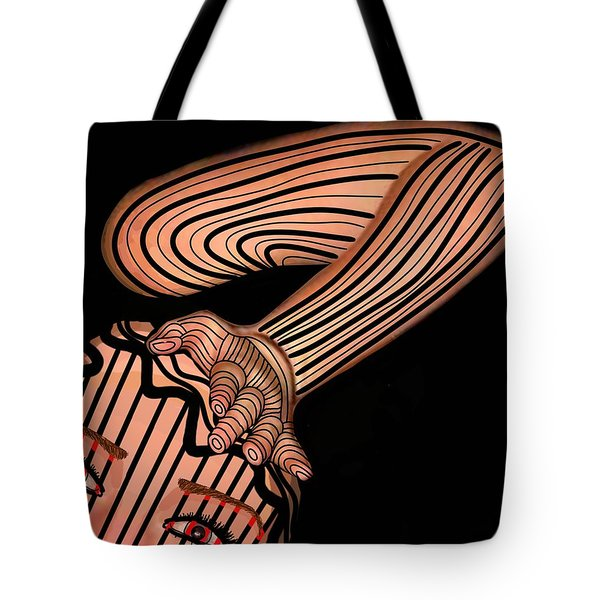 Mask Dont Hold Me Down Tote Bag