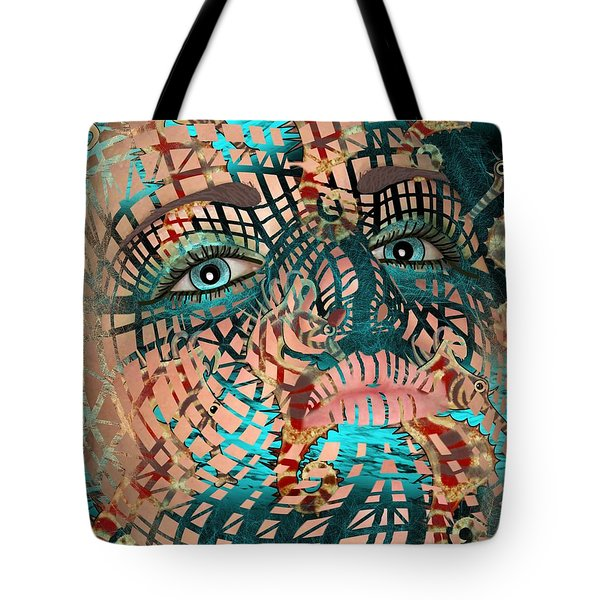 Mask Dreaming Of The Sea Tote Bag