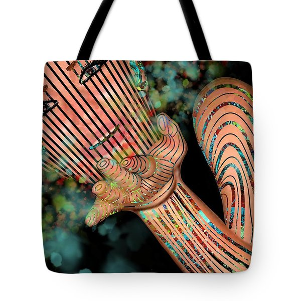 Mask Fairy Dust Tote Bag