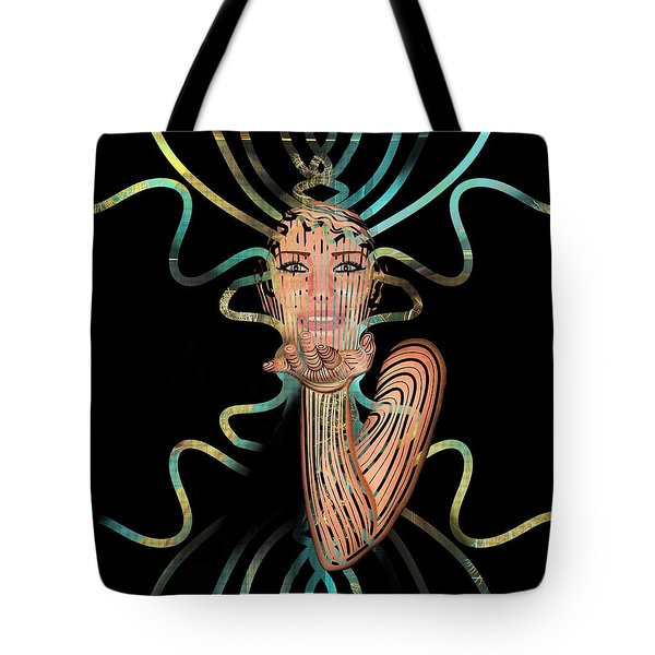 Mask I Cast My Spell You Are Mine Tote Bag
