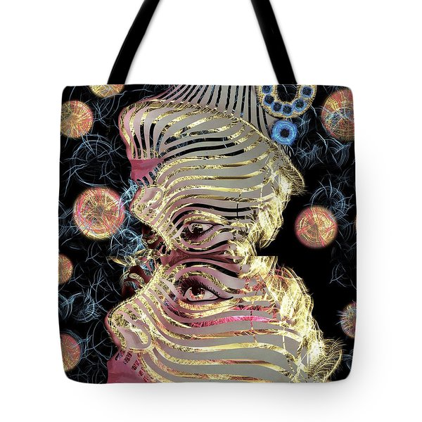 Mask My Minds Eye Tote Bag