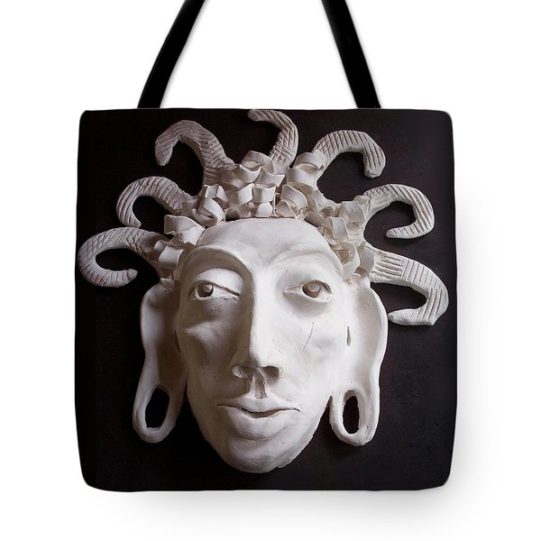 Mask The Aztec Tote Bag