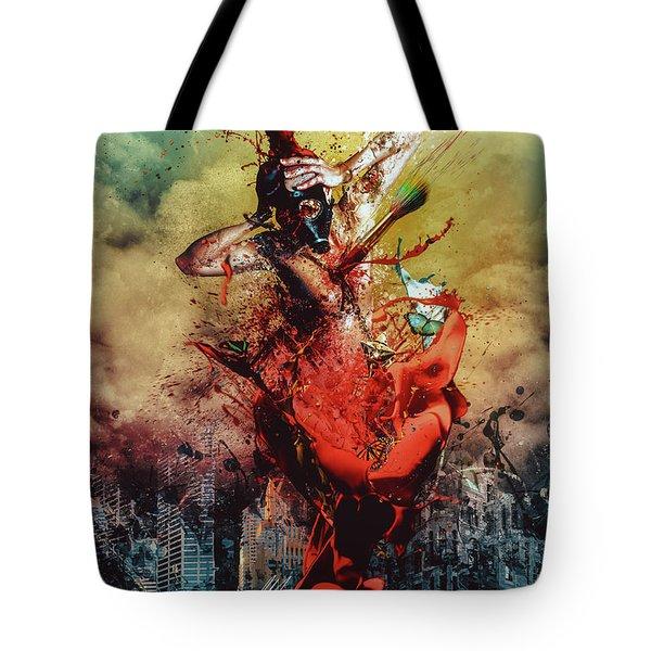 Masochistic Artist.  Tote Bag