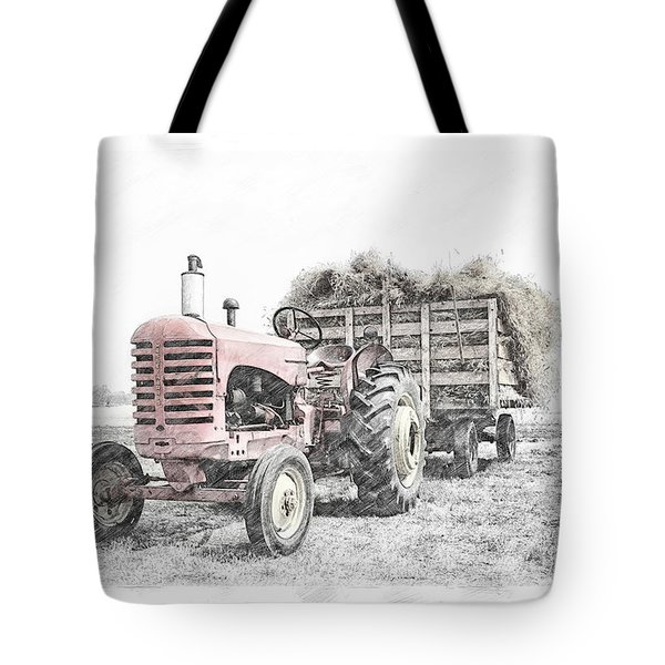 Massey Harris Tote Bag
