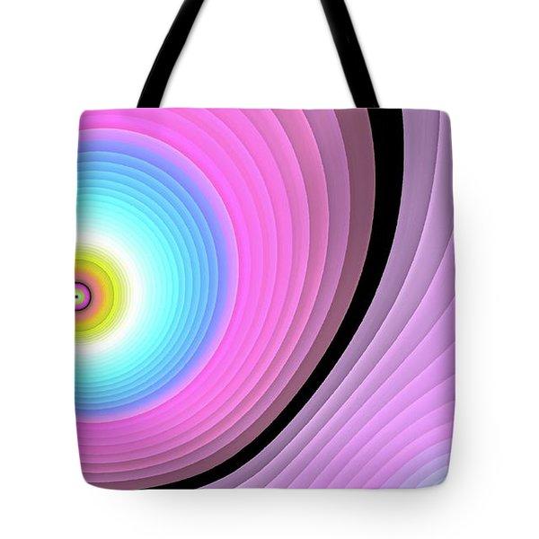 Massive Hurricane Pink Tote Bag