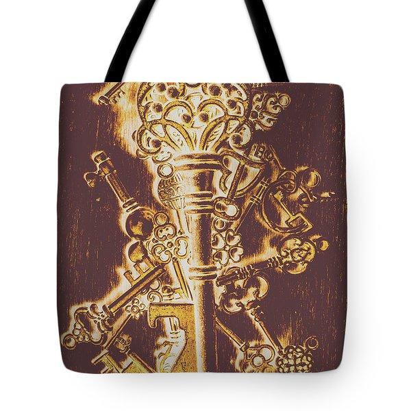 Master Key Tote Bag