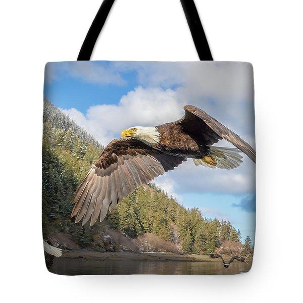 Master Of The Skies Tote Bag