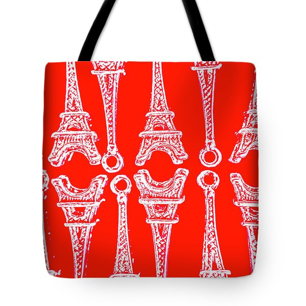 Match Made In Paris Tote Bag