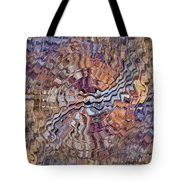 Tote Bag featuring the digital art Matter Mixer by David Manlove