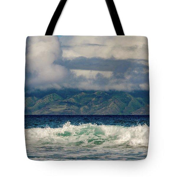 Maui Breakers II Tote Bag