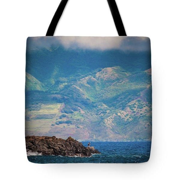 Maui Fisherman Tote Bag