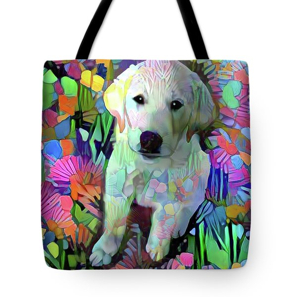 Max In The Garden Tote Bag