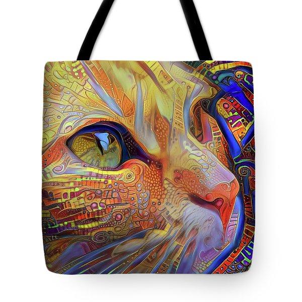Max The Ginger Cat Tote Bag