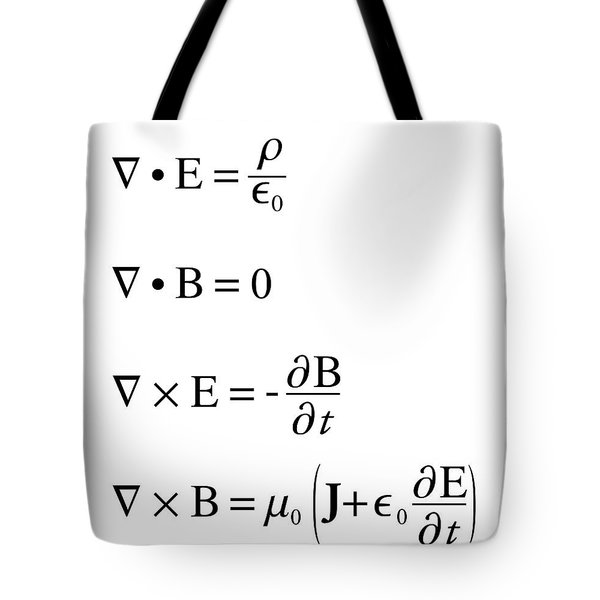 Maxwell's Equations Tote Bag