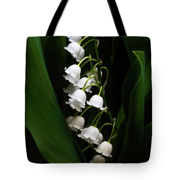 May Lily Aka Lily Of The Valley Tote Bag