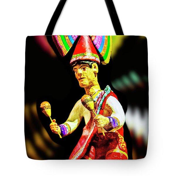 Mayan Dancer Tote Bag