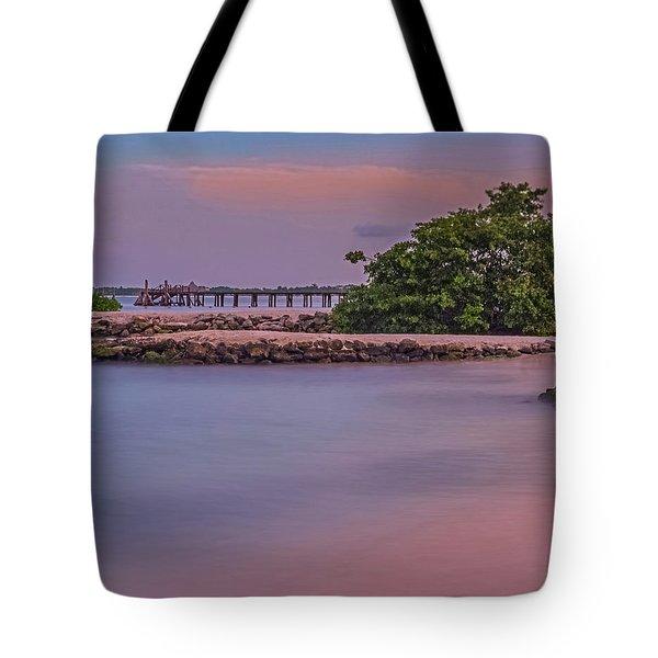 Mayan Shore Tote Bag