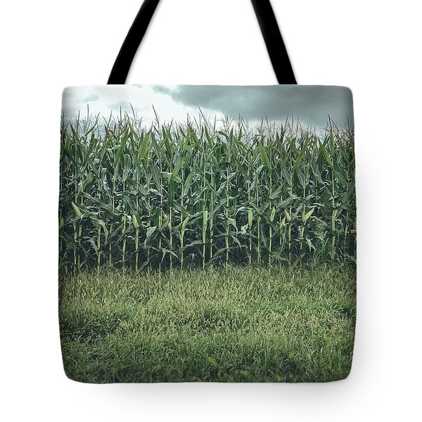 Tote Bag featuring the photograph Maze Field by Steve Stanger