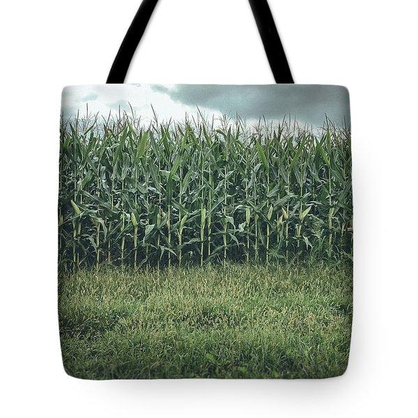 Maze Field Tote Bag