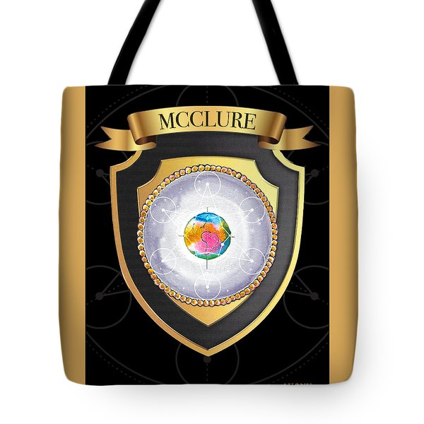 Mcclure Family Crest Tote Bag