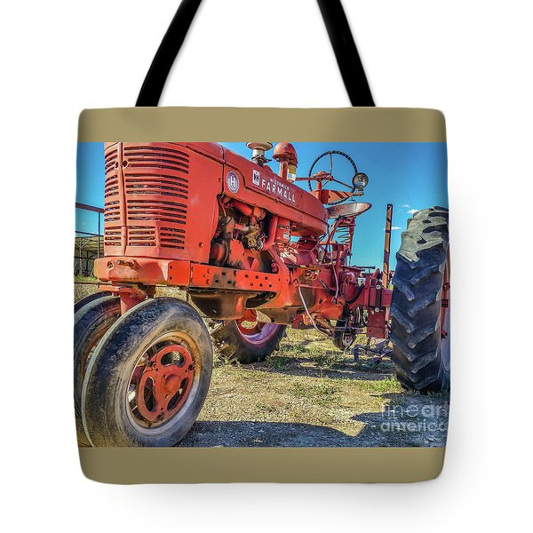 Mccormick Farmall Tote Bag