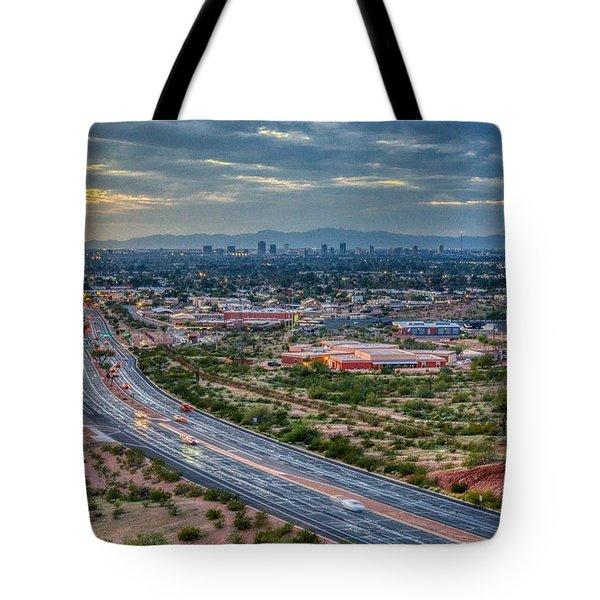 Mcdowell Road Tote Bag