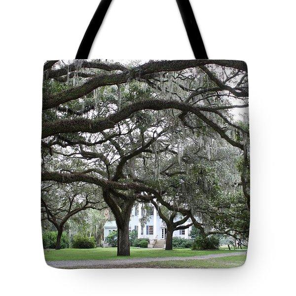 Mcleod Plantation Tote Bag