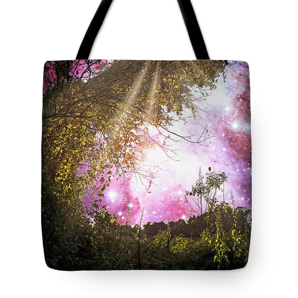 Meadow Starry Night Tote Bag