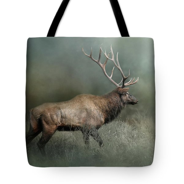 Tote Bag featuring the photograph Meandering by Jai Johnson