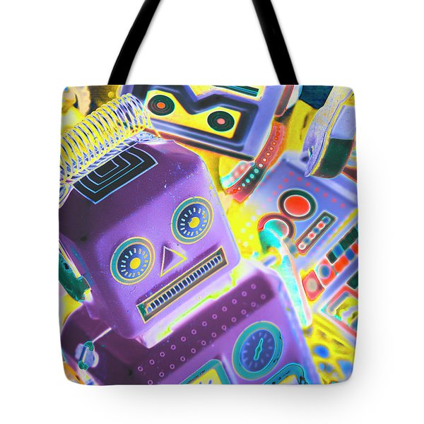 Mechanic Al Pop-art Tote Bag