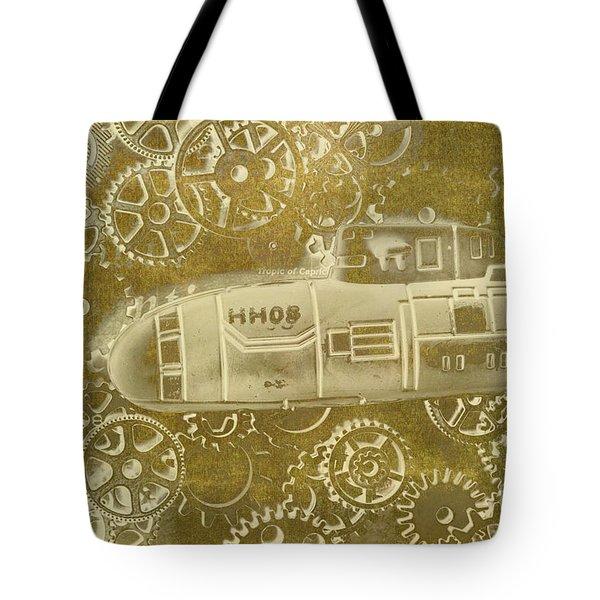 Mechanical Sub Specs Tote Bag