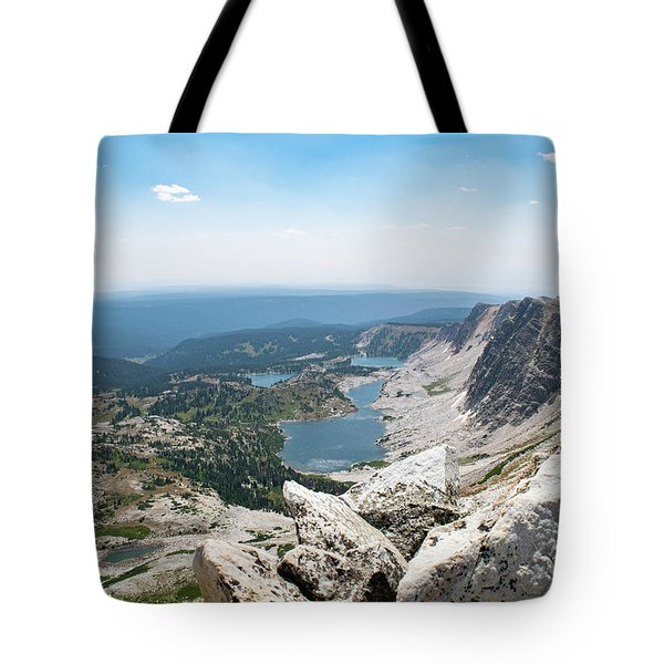 Medicine Bow Peak Tote Bag