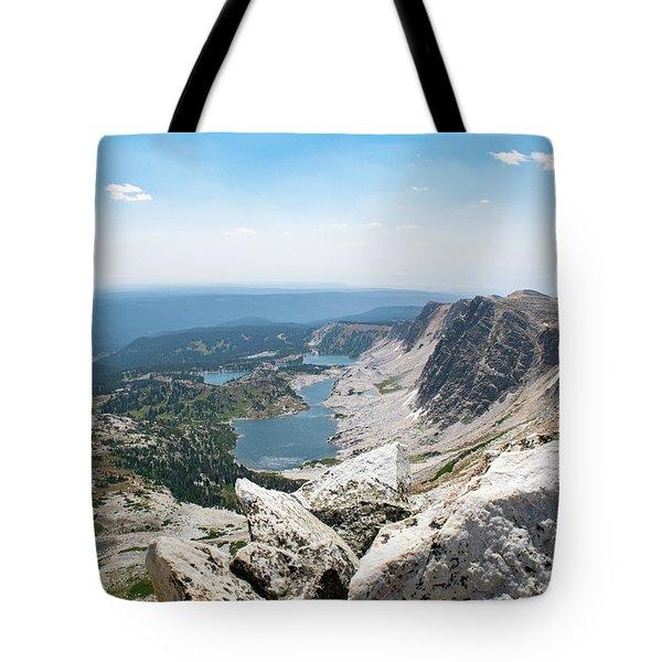 Medicine Bow Peak Tote Bag