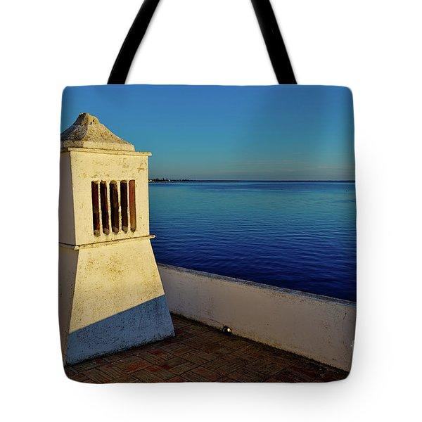 Mediterranean Chimney II. Portugal Tote Bag