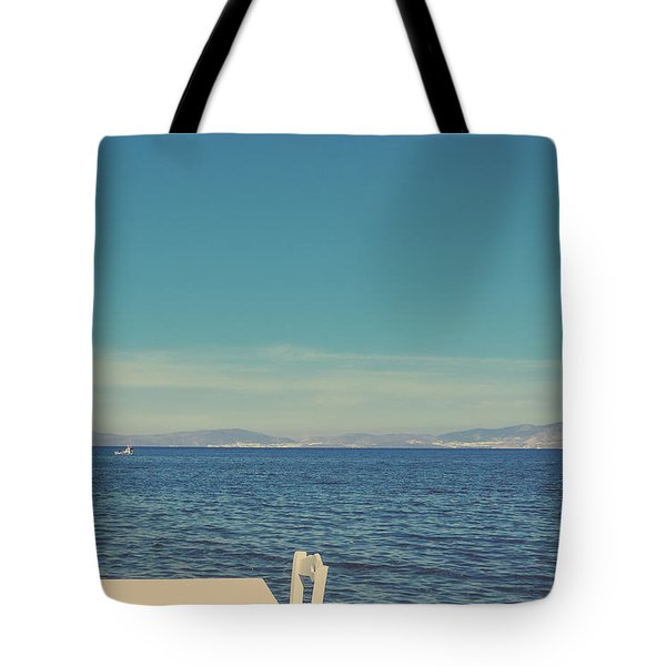 Tote Bag featuring the photograph Mediterranean Vacation I by Anne Leven