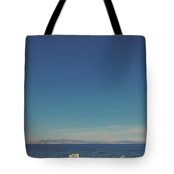 Tote Bag featuring the photograph Mediterranean Vacation V by Anne Leven