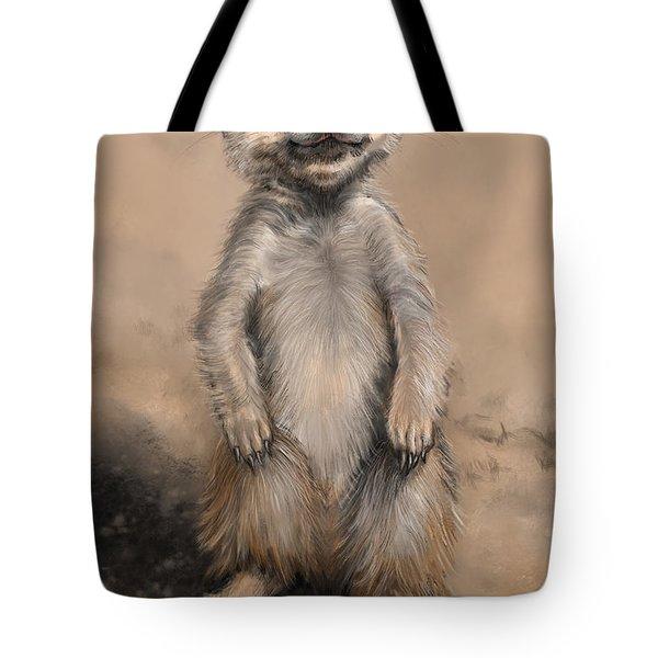 Meercat Tote Bag