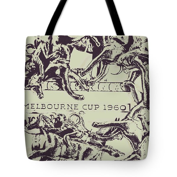 Melbourne Cup 1960 Tote Bag