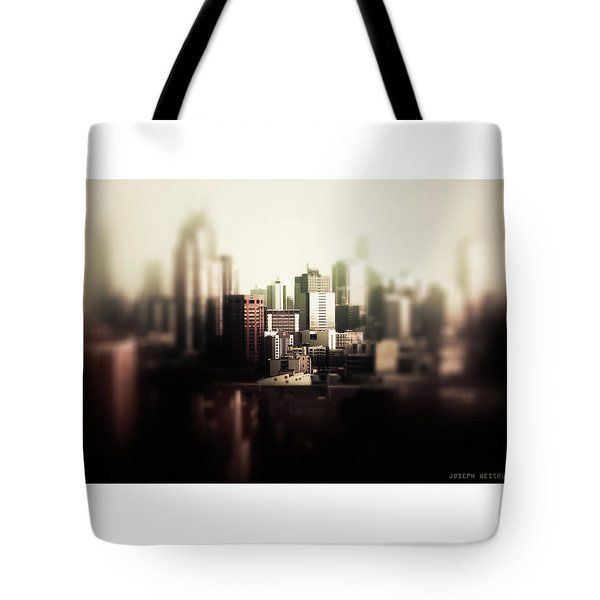 Melbourne Towers Tote Bag
