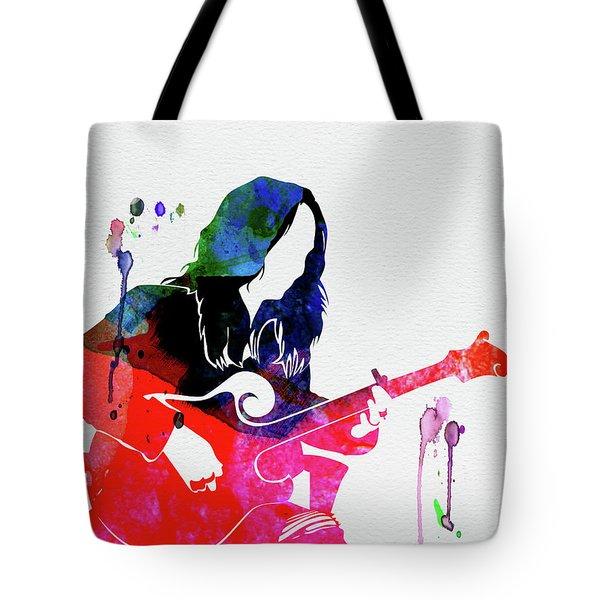 Melissa Watercolor Tote Bag