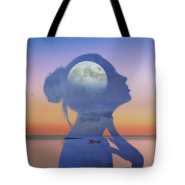 Melting Night Tote Bag