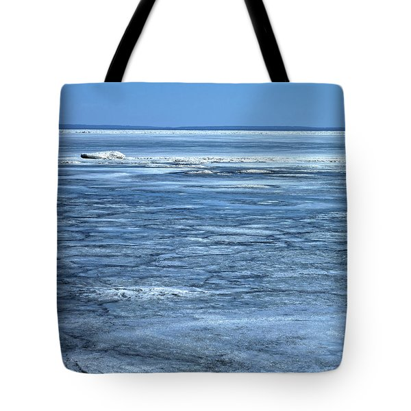 Melting Underway On Erie Tote Bag